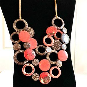 Statement Handmade Seed Necklace